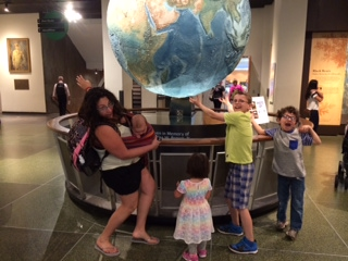 Adventures with the Brood: The Boston Museum of Science