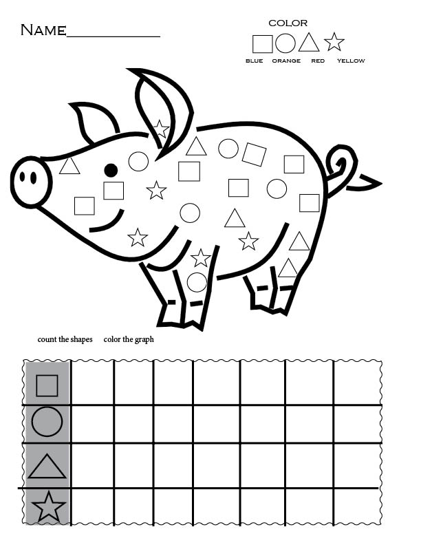 FREE Preschool  Worksheet