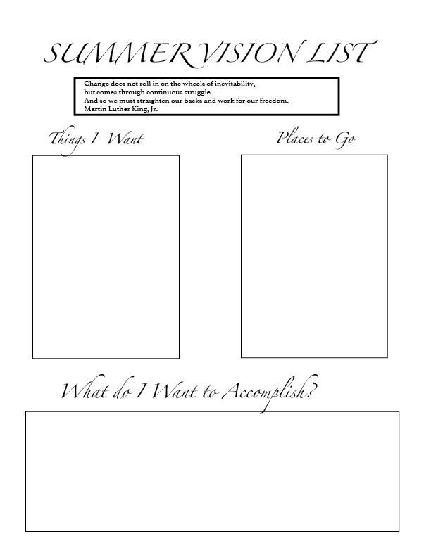 Vision List